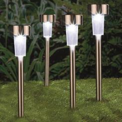 Solar-Lampen, 4er-Set