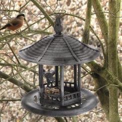 Vogelfutter-Haus